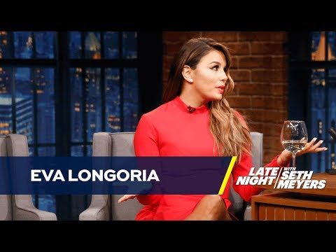 Serena Williams' Baby Shower Forced Eva Longoria to Sew a New Dress