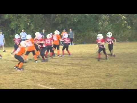 """2011 Football Michael""""s Highlights 4th grade.wmv"""