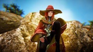 Black Desert No UI Witch Gameplay Ancient Ruins Dungeon