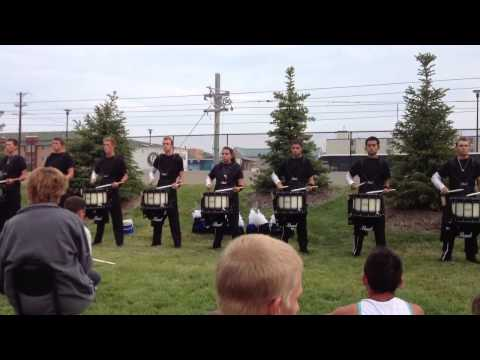 Blue Devils Drumline 2013 - New 16th note exercise