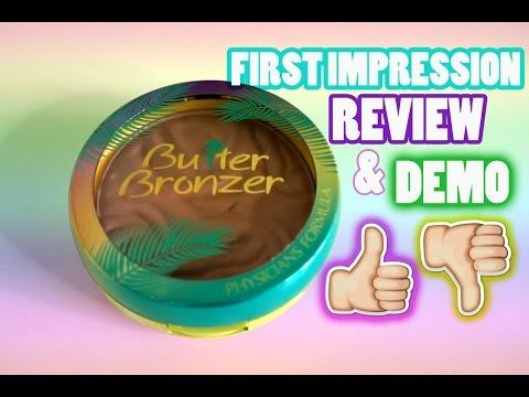 First Impression Physicians Formula Murumuru Butter Bronzer Review Demo