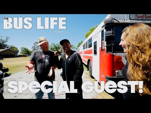 "Lou Bega ""Mambo no. 5"" Visits our Bus | The Bus Life"