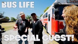 Lou Bega Visits our Bus Conversion | The Bus Life
