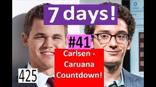 7 days to Carlsen-Caruana! ¦ Kramnik's title 'On Loan' with Anand!