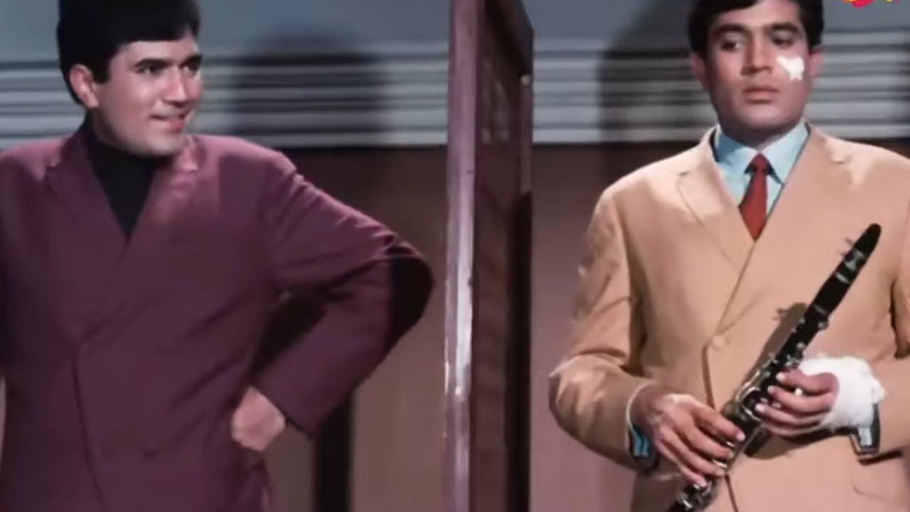 CLIMAX   राजेश खन्ना का धमाकेदार Double Role   Sachaa Jhutha (1970) Part 6   Rajesh Khanna, Mumtaz