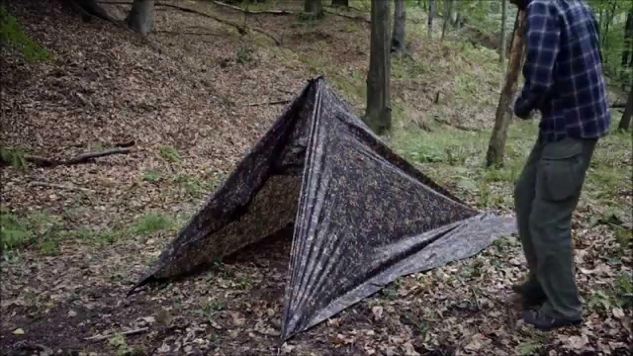 Jak zrobić zamknięte schronienie z tarpa