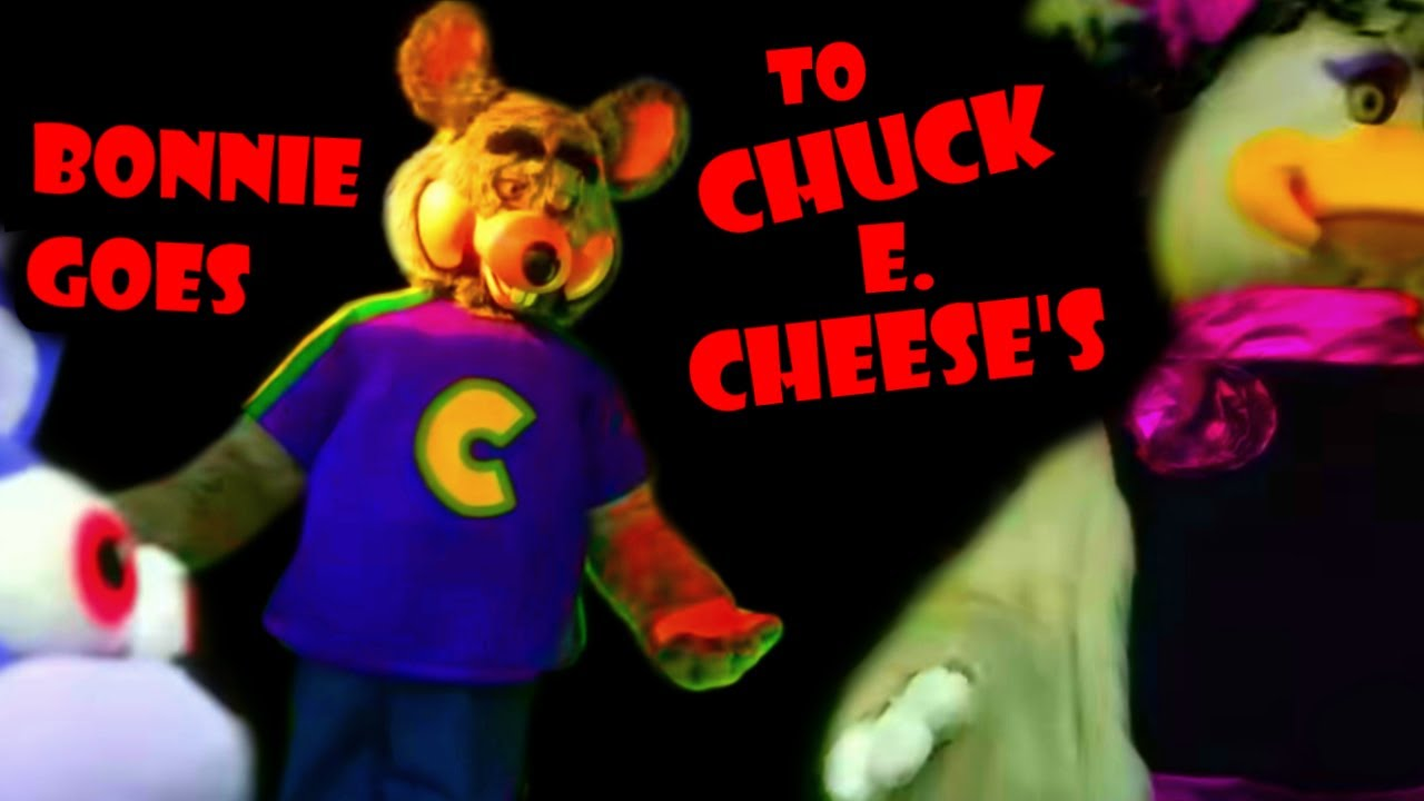 fnaf-plush-bonnie-goes-to-chuck-e-cheese-s
