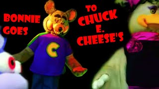 Fnaf Plush -  Bonnie Goes to Chuck E Cheese's