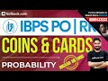 Probability | Coins & Cards | Learn Best Tricks With Shivam Sir | IBPS Quant Class 13