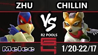 genesis 4 ssbm   boxr zhu falco vs liquid chillin fox smash melee r2 pools