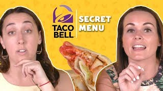 We Tried the Taco Bell Secret Menu | TASTE TEST