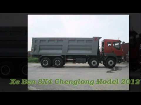 Xe ben 4 chan 8X4 ChengLong- Hai Au Moi 2012 Call- 0985 981 801.mpg