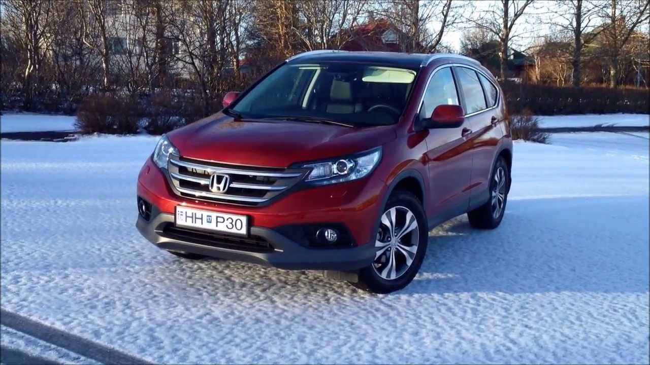 2017 Honda Cr V European Edition Video And Photo Tour