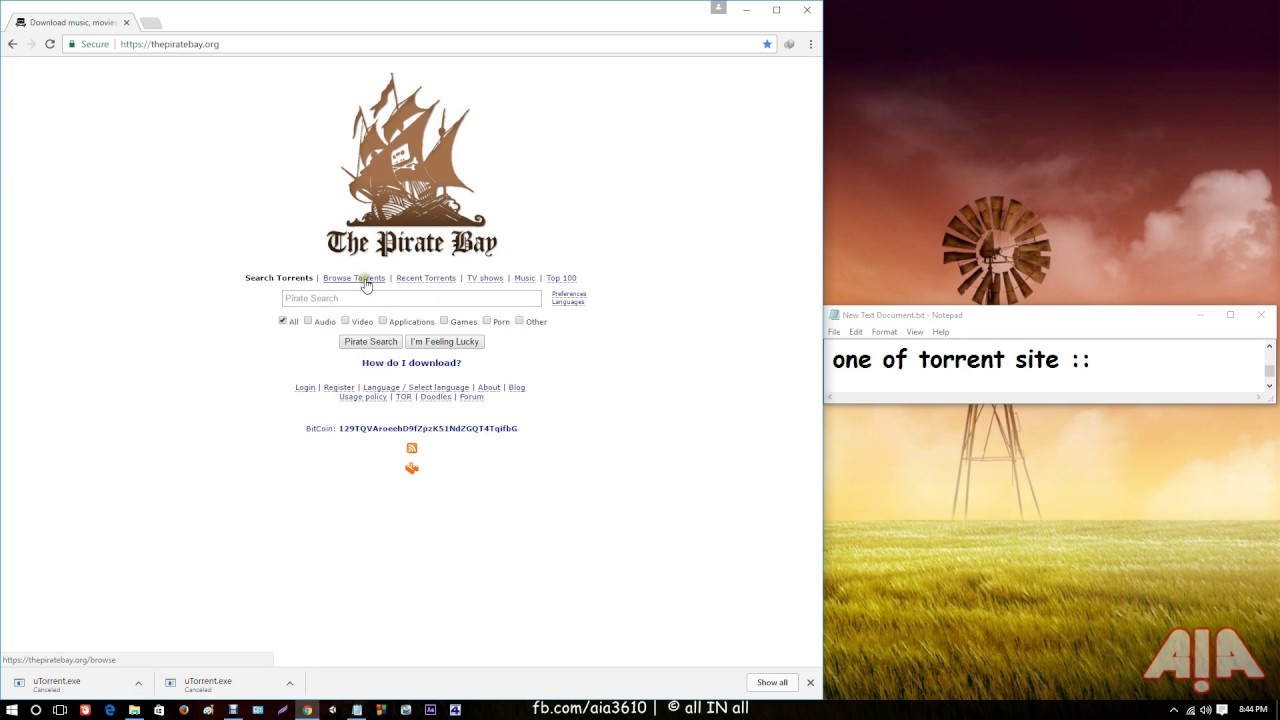 https thepiratebay org browse