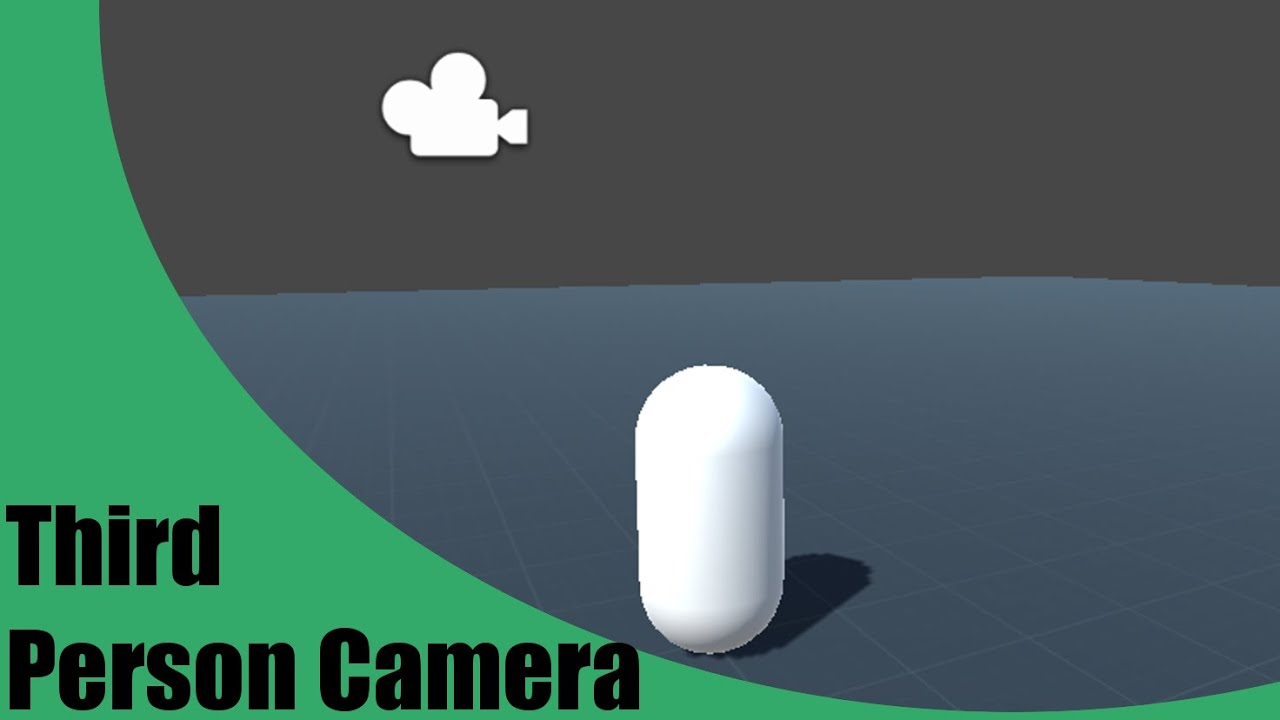 [Unity 5] Tutorial: How to make a Third Person Camera in Unity