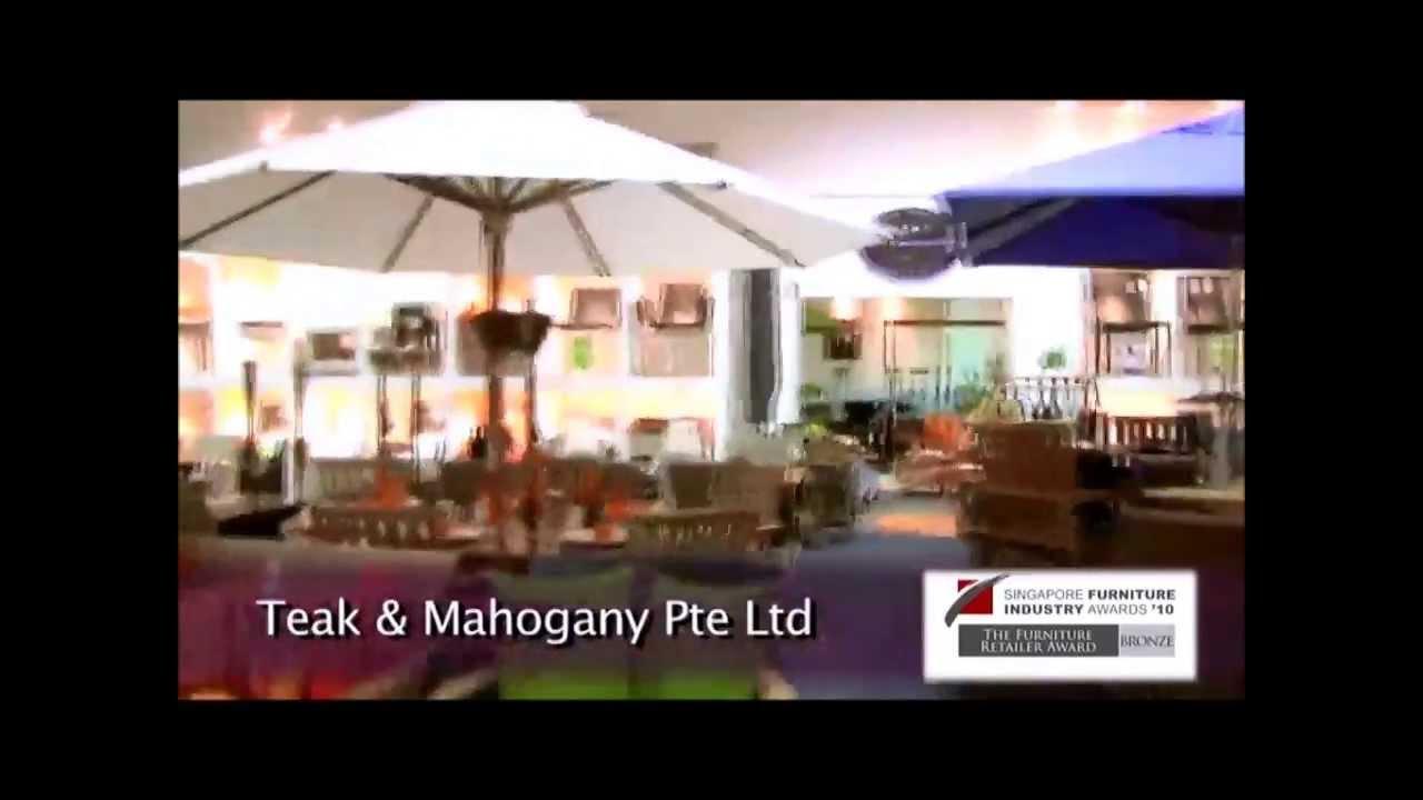 singapore furniture industry awards - teak and mahogany pte ltd