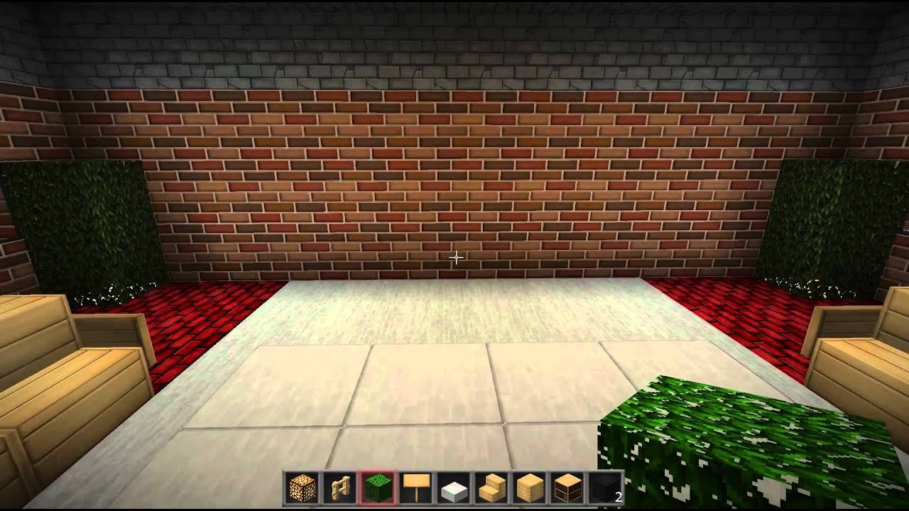 Minecraft How To Make A Nice Looking Living Room Pc And Xbox Youtube