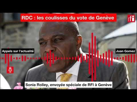 RDC :les coulisses du vote de Genève