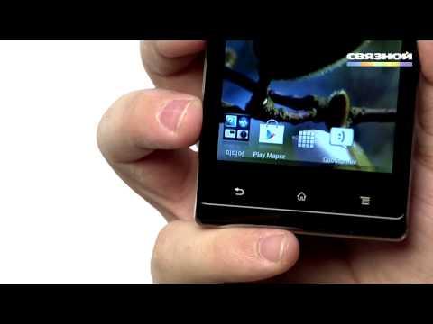Обзор смартфона Sony Xperia J