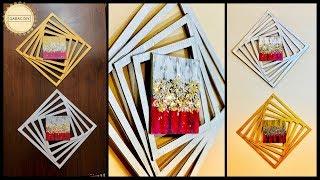 DIY Unique & Abstract Wall Art| gadac diy| home decorating ideas| handcraft| wall hanging|wall decor