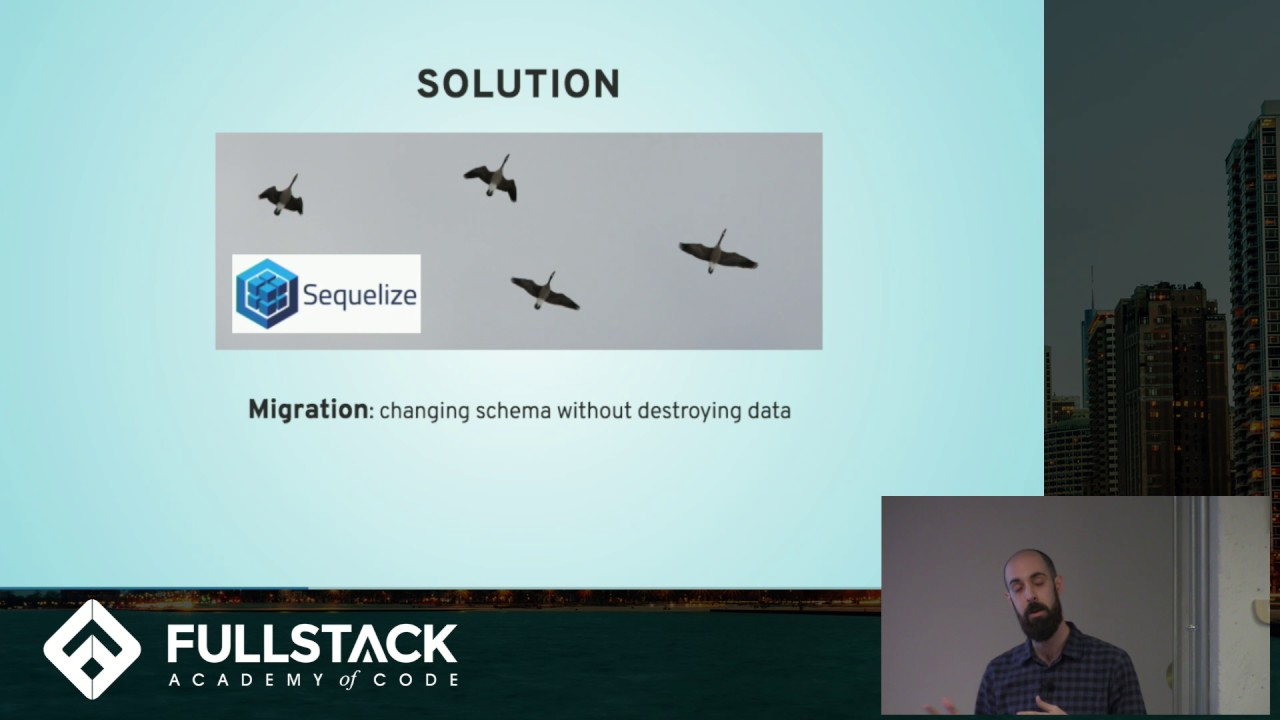 Sequelize Tutorial - How to use Sequelize Migrations to transform your  Database