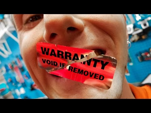 Thumbnail: Safely Remove Warranty Stickers