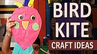 How to Make a Cute Bird Kite - Paper Craft Ideas