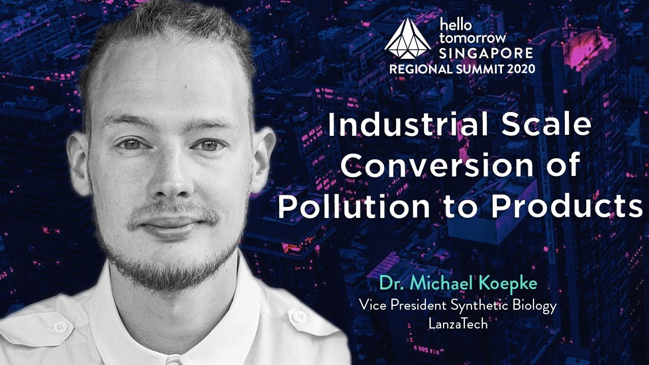 Industrial-Scale Conversion of Pollutants to Products | Dr. Michael Koepke