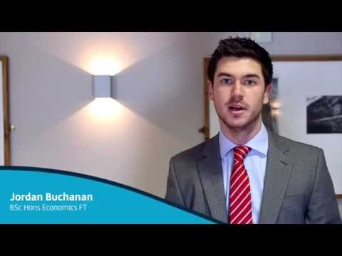 Student Profile: Jordan Buchanan - BSc Hons Economics