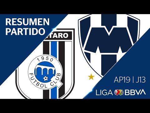 Resumen y Goles   Querétaro vs Monterrey   Jornada 13 - Apertura 2019   Liga BBVA MX