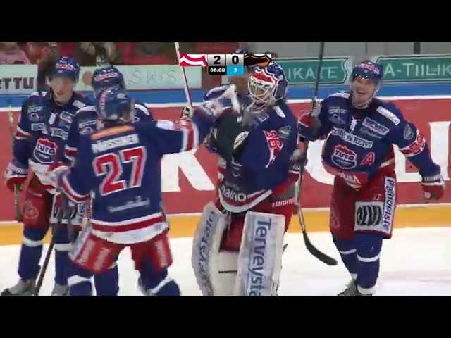 Finnish Hockey Announcer Goes Berserk After Goalie Scores Full Ice Goal