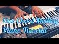 One Chord Medley Piano Tutorial | Unplugged Vocal Piano | G minor | Hindi