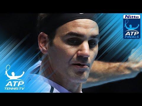 Roger Federer sublime shots vs David Goffin | Nitto ATP Finals 2017 Semi-Final