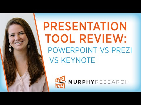 Which Presentation Tool is Right For You?  Powerpoint vs. Prezi vs. KeyNote