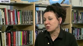 LIVE - Wywiad z Olgą Tokarczuk