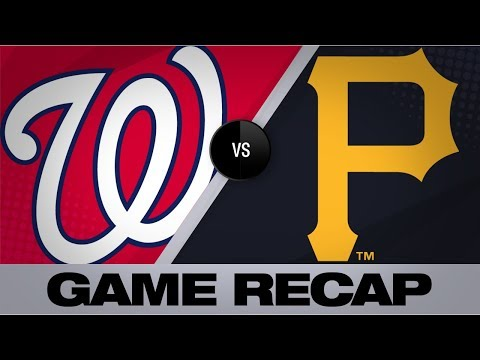 Dan Rivers - Nationals Jump Out To Big Lead, Crush Pirates