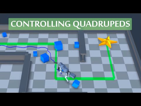 This AI Helps Controlling Virtual Quadrupeds! 🐕