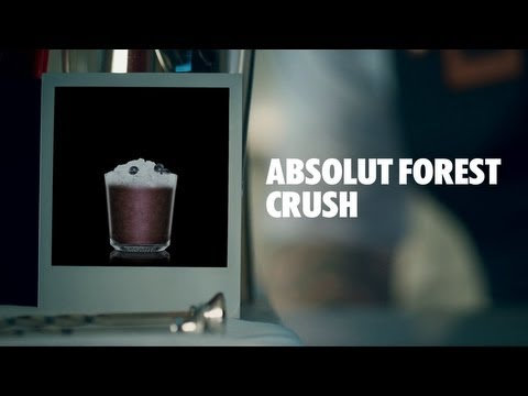 ABSOLUT FOREST CRUSH DRINK RECIPE - HOW TO MIX