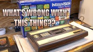 Bandai Intellivision diagnosis and major repair