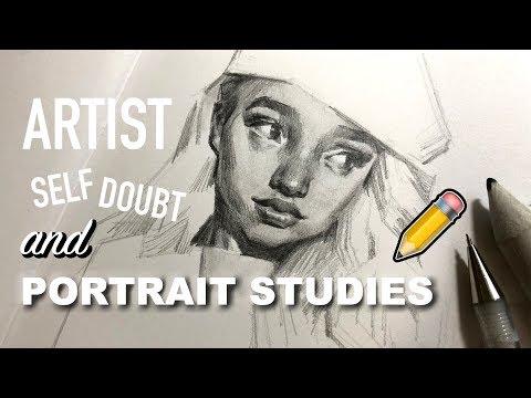 Portrait Studies Walk-Through✏️+Dealing w/Crippling Self-Doubt!