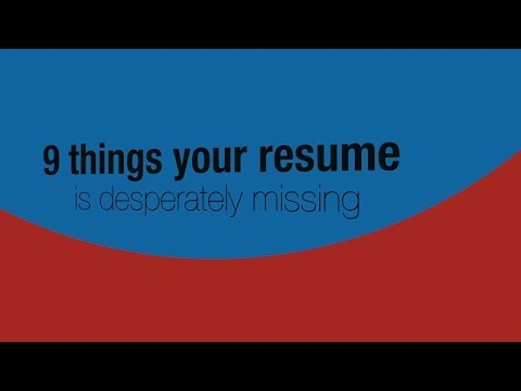 Your marketing resume is missing interest in big data, content readiness,  and mobile knowledge