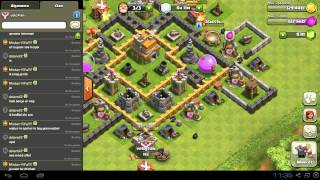 Clash of Clans update Video #9: Barbaren Koning? + Clan cleanup