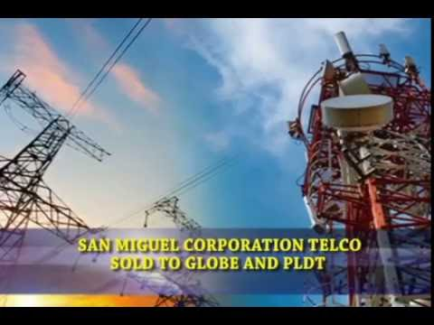 Bizwatch - SMC Telco Sold To Globe And PLDT
