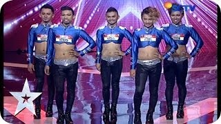 Vogue Dance by Return Dancer - AUDITION 5 - Indonesia's Got Talent