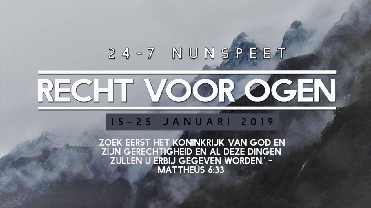 Week Van Gebed 2019 Dorpsherberg Nunspeet Youtube