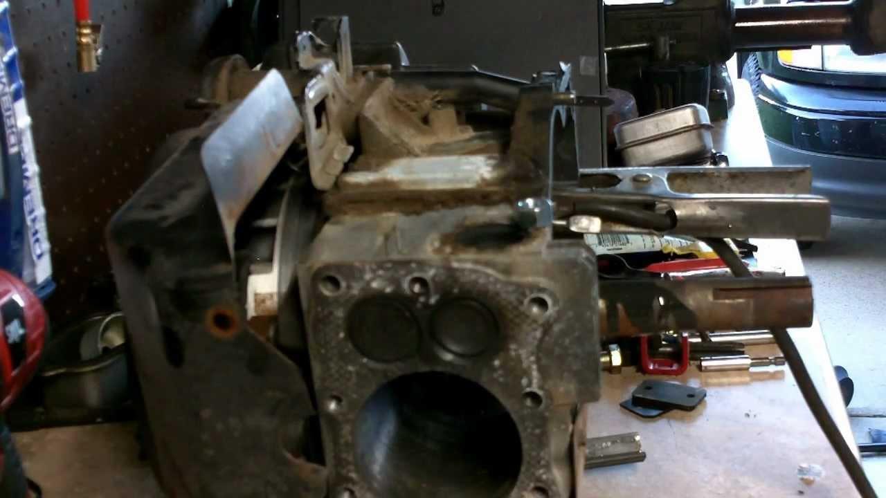 Briggs Lawn Mower Engine Repair How To Remove Broken Off