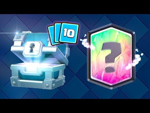 OMG! 10 LEGENDARY CARDS aus FREE CHESTS! 😱 | Clash Royale Deutsch
