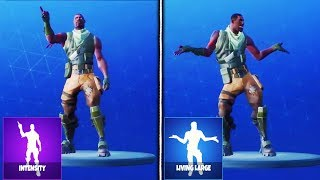 ALL *NEW* LEAKED EMOTES GAMEPLAY in Fortnite! (Intensity, Living Large, Finger Wag, Hand Signals)