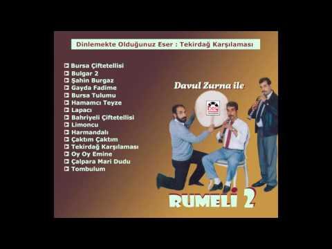 Davul Zurna Ile Rumeli 2 - Tekirdağ Karşılaması