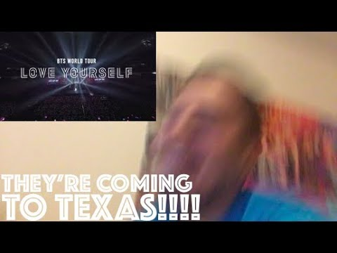 "BTS (방탄소년단) WORLD TOUR ""LOVE YOURSELF"" SPOT Reaction"